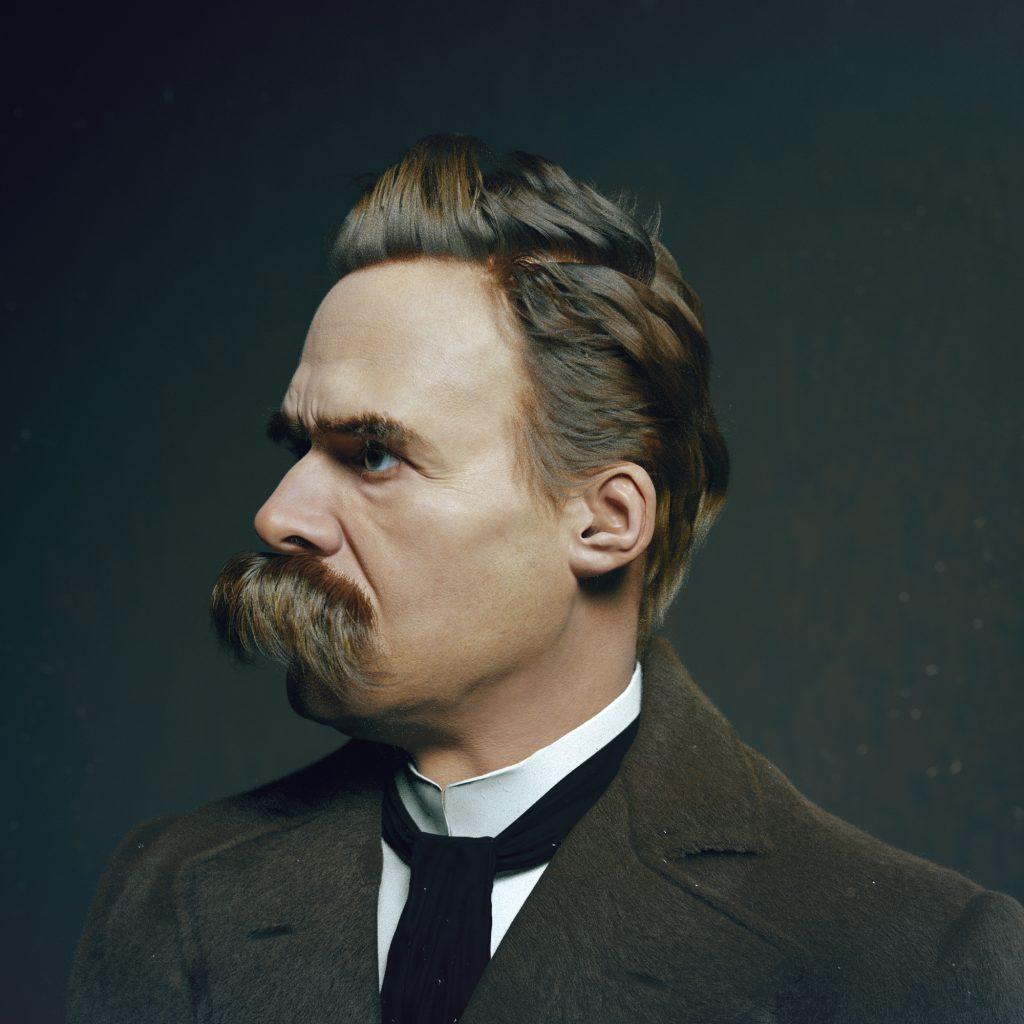 Nietzsche on self belief.